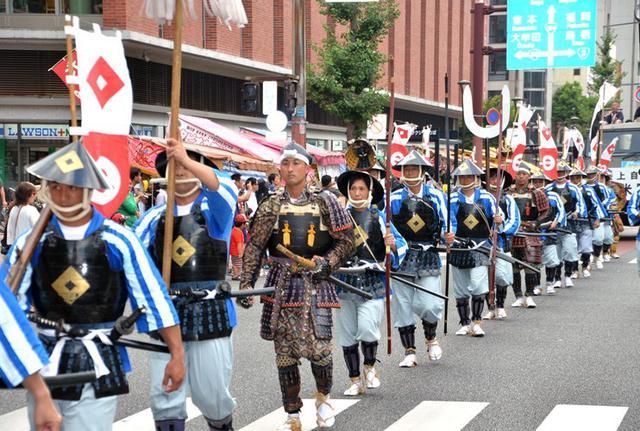 画像4: 久留米祭りを盛り上げる|久留米駐屯地