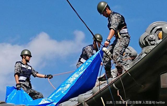 画像4: 台風15号 停電復旧支援を終了|陸海空自部隊