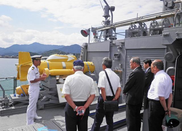画像4: 掃海艇「あいしま」艦艇広報開催|山口地本