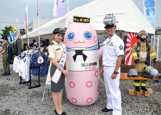 画像1: 「うと地蔵まつり」で自衛隊PR|熊本地本