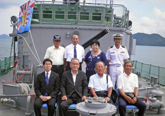 画像6: 掃海艇「あいしま」艦艇広報開催|山口地本