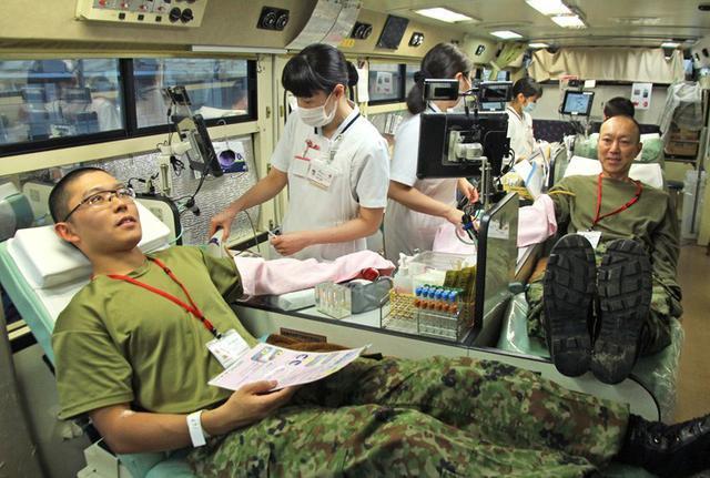 画像2: 271人、100L献血チャレンジ達成|福知山駐屯地
