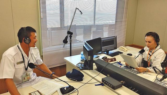 画像1: ラジオで艦艇乗員が海自PR|静岡地本