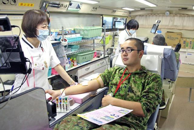 画像3: 271人、100L献血チャレンジ達成|福知山駐屯地