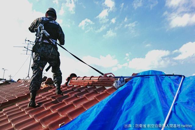 画像3: 台風15号 停電復旧支援を終了|陸海空自部隊