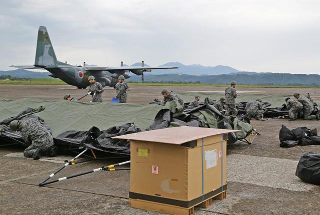 画像2: 被災した飛行場の機能復旧を演練|空自航空支援集団