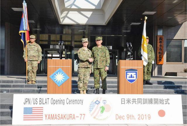 画像1: 日米共同で指揮所演習|陸自西部方面隊