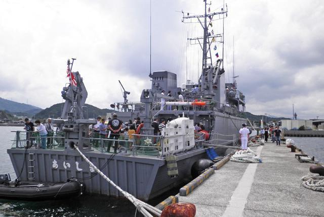 画像3: 掃海艇「あいしま」艦艇広報開催|山口地本