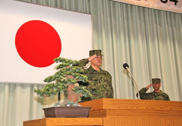 画像2: 創隊64周年記念 盛大に祝う|福岡駐屯地