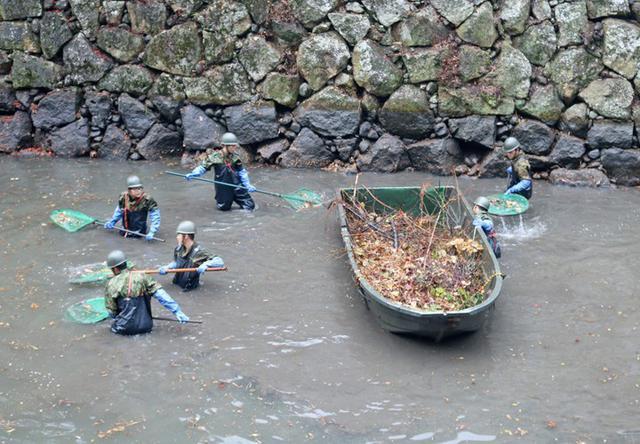 画像5: 「姫路城クリーン作戦」に隊員500人|姫路駐屯地