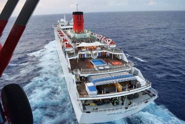 画像4: 航海中の客船から患者を緊急搬送|海自21空群
