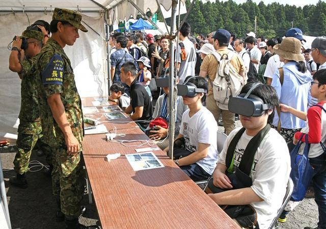 画像4: 多次元統合防衛力構築へ|令和元年度富士総合火力演習