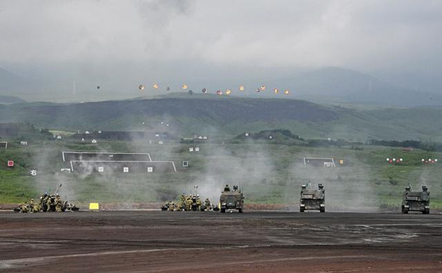 画像11: 多次元統合防衛力構築へ|令和元年度富士総合火力演習