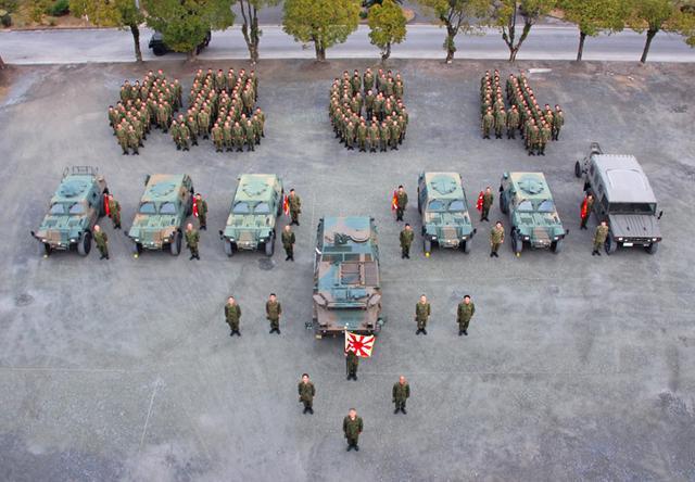 画像1: 創隊64周年記念 盛大に祝う|福岡駐屯地
