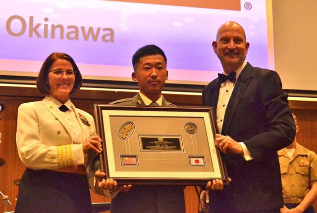 画像4: USO顕彰式で表彰|陸自15旅団
