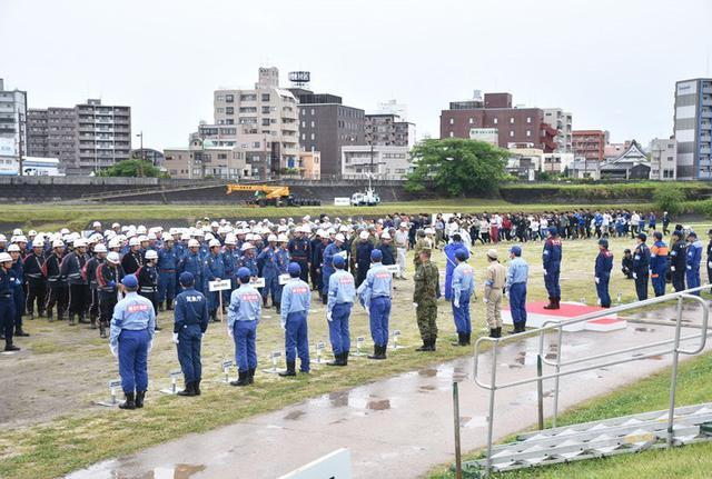 画像2: 水防演習で災害時の連携強化|北熊本駐屯地