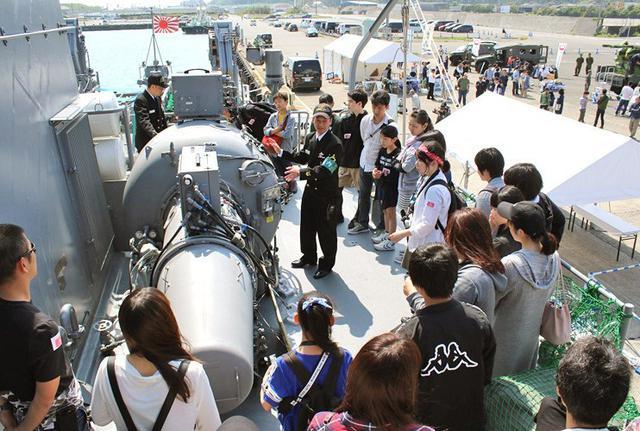 画像2: 大型連休イベントで海自掃海艇公開|静岡地本