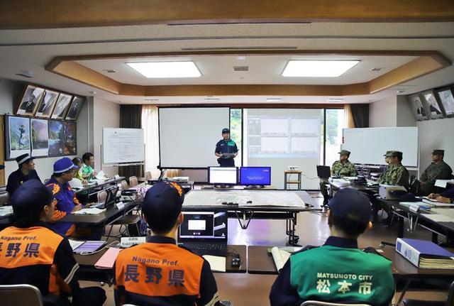 画像2: 焼岳噴火を想定し防災訓練|松本駐屯地