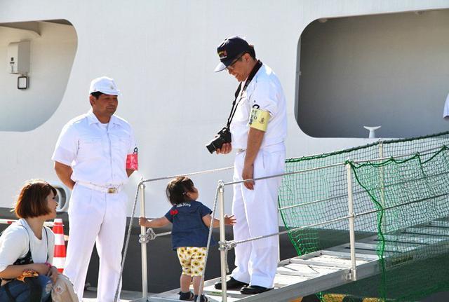 画像8: 海自 特務艇「はしだて」公開支援|岩手地本