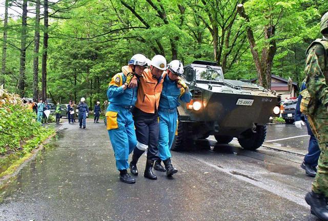 画像4: 焼岳噴火を想定し防災訓練|松本駐屯地