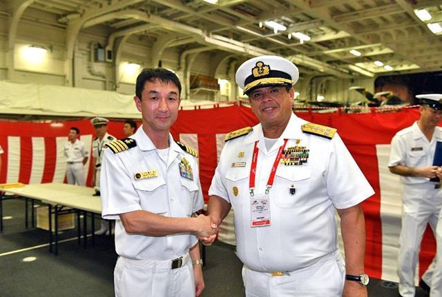 画像2: シンガポールで実動訓練|海自1護衛隊群
