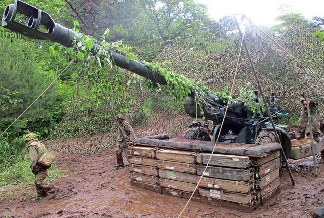 画像6: 8日間の機動展開・射撃訓練|北富士駐屯地