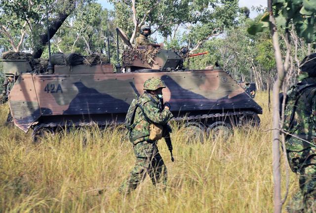 画像4: 米・豪軍と実動訓練|松本駐屯地