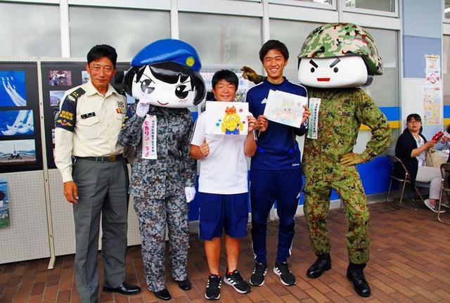 画像4: 空自女性自衛官も広報に一役|新潟地本