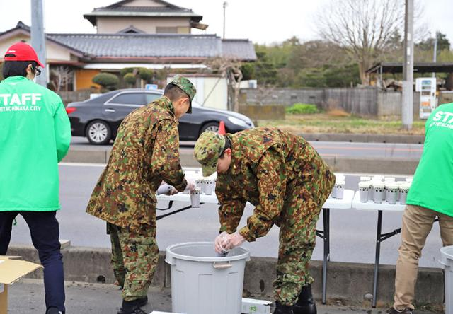 画像5: マラソン大会で演奏、給水支援|勝田駐屯地