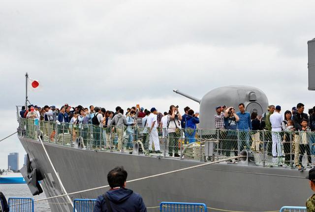 画像3: 護衛艦「あまぎり」公開に4500人|千葉地本