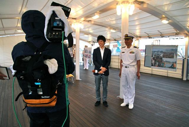 画像4: 海自 特務艇「はしだて」公開支援|岩手地本