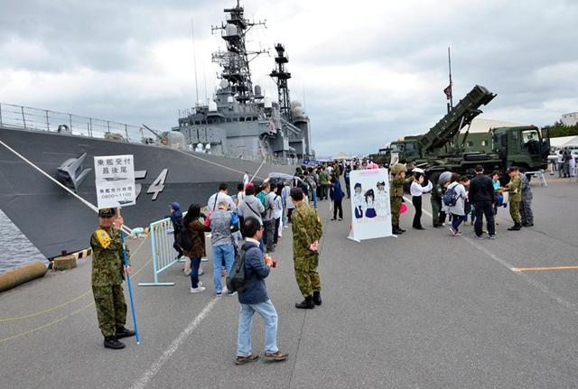 画像6: 護衛艦「あまぎり」公開に4500人|千葉地本