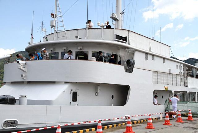 画像3: 海自 特務艇「はしだて」公開支援|岩手地本