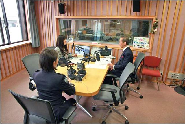 画像2: 女性本部長がAMラジオで募集アピール|京都地本