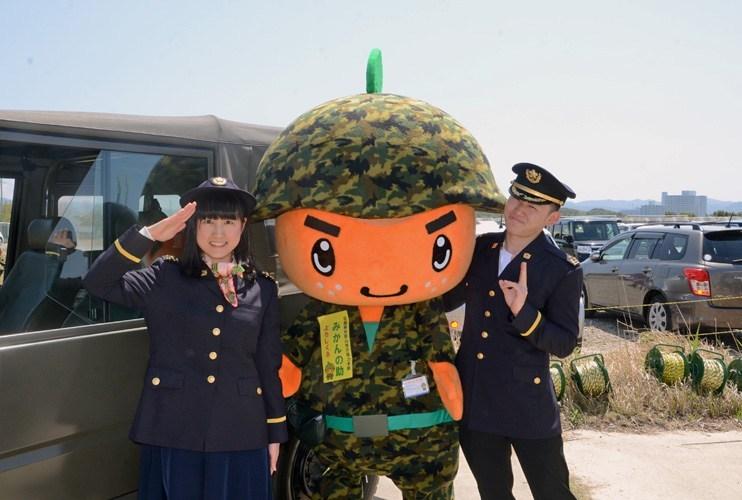 画像1: 「つのしま」艦艇公開に6000人|和歌山地本
