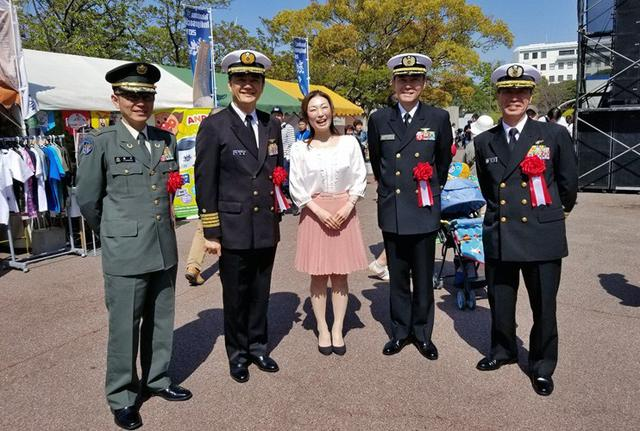 画像4: 陸海自と自衛隊アピール|徳島地本