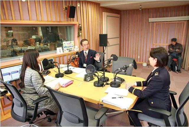 画像3: 女性本部長がAMラジオで募集アピール|京都地本