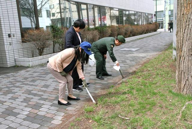 画像5: 部員50人が清掃活動で環境美化|札幌地本