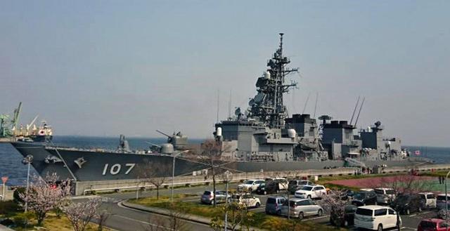 画像1: 護衛艦特別公開に引率|奈良地本