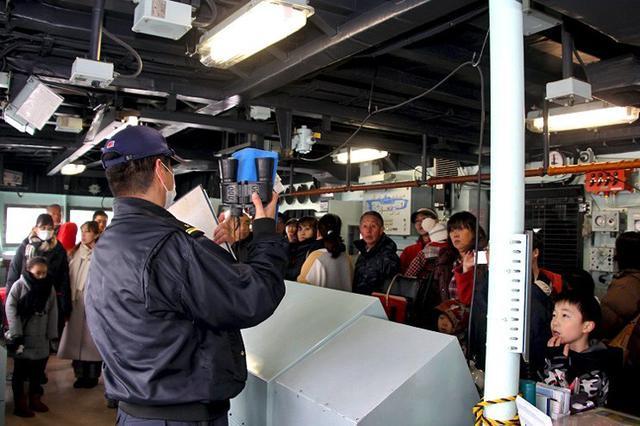 画像1: 入隊予定者ら海自理解深める|帯広地本