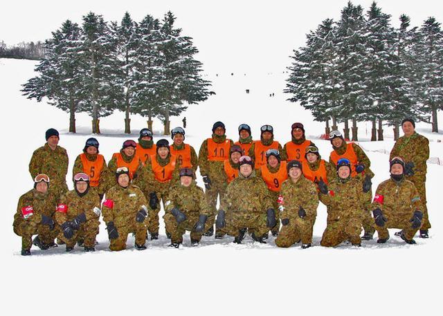 画像1: 新隊員スキー集合訓練|陸自北海道補給処