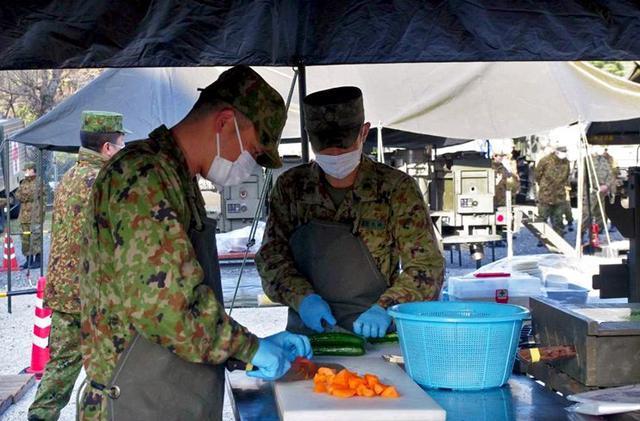 画像4: 「食事が部隊をつくる」野外炊事競技会|陸自対馬警備隊