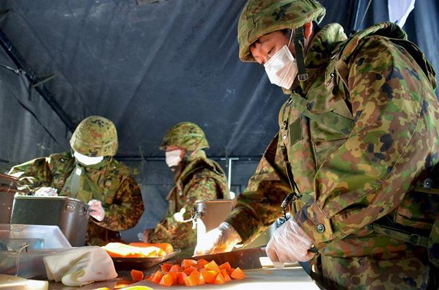 画像2: 献立は「カレー」炊事競技会|北千歳駐屯地