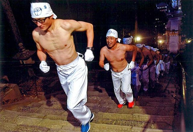 画像: 裸駆け足 神社で安全祈願|多賀城駐屯地