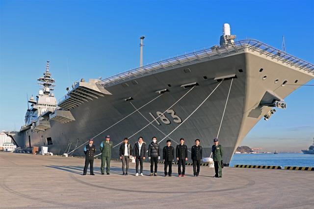 画像: 入隊予定者「いずも」で体験航海|茨城地本