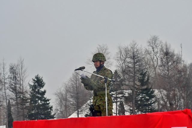 画像2: 「最強連隊目指し共に」連隊長訓示|滝川駐屯地