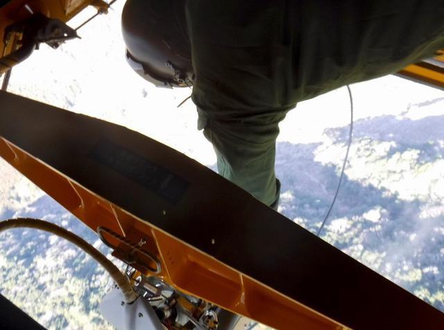 画像2: 山林火災 ヘリ4機が出動|八尾駐屯地