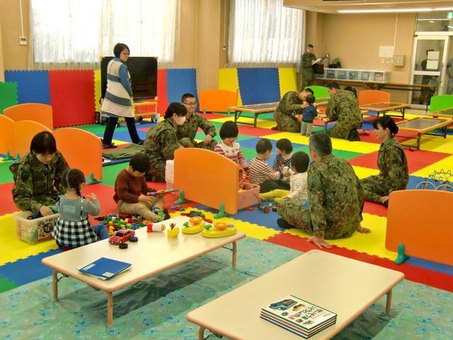 画像1: 緊急登庁支援で子供施設開設|朝霞駐屯地