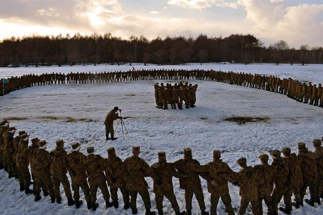 画像6: 学生249人による騎馬戦|東千歳駐屯地