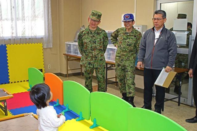 画像3: 緊急登庁支援で子供施設開設|朝霞駐屯地